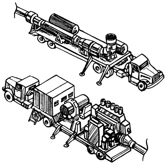 Мобильный лазерный технологический комплекс